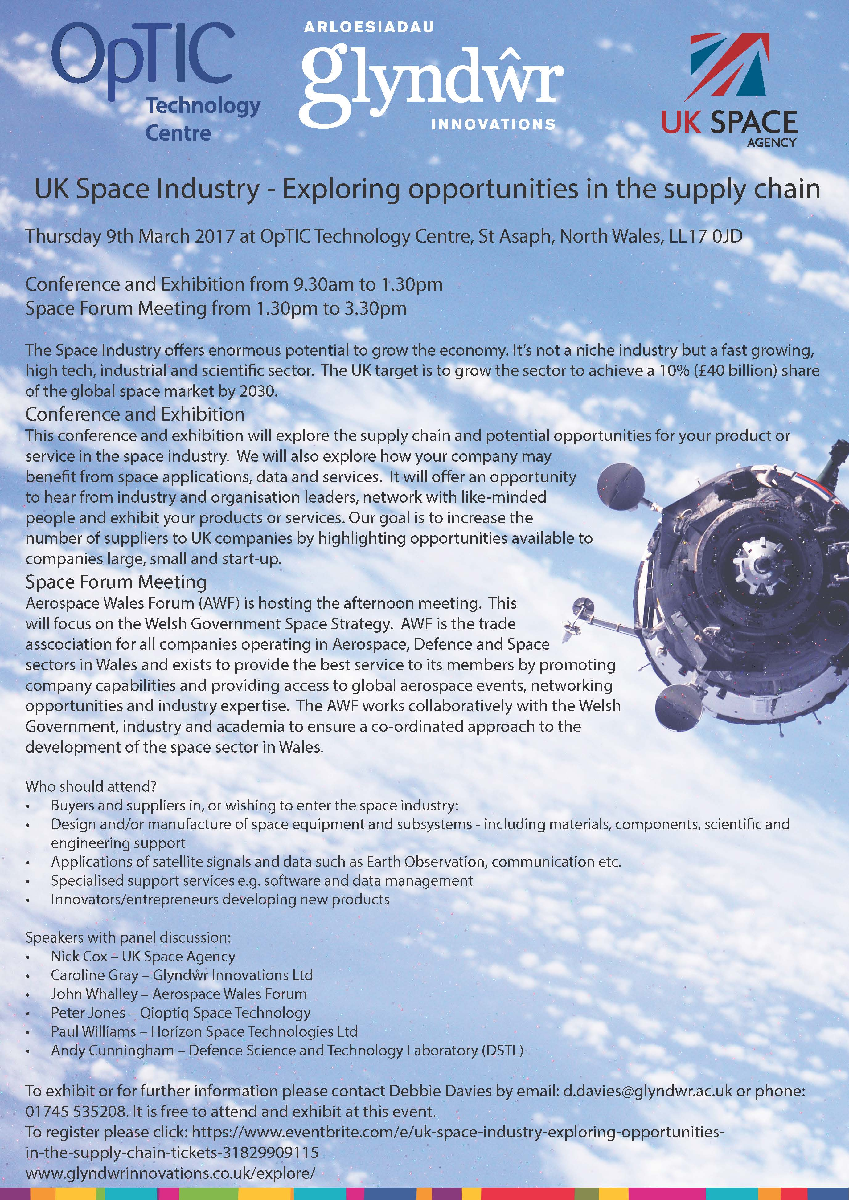 Glyndwr Innovations to host an Exploring the Supply Chain