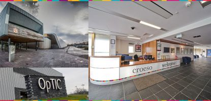 OpTIC Technology Centre Building and Reception.
